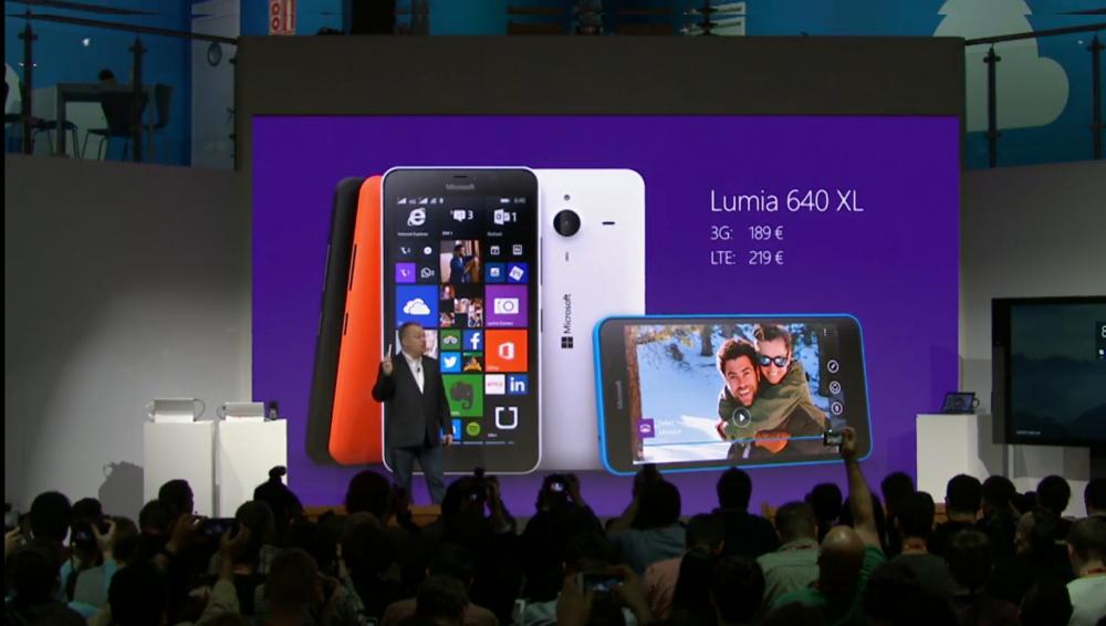 Les Lumia 640 et Lumia 640XL sont officiels!