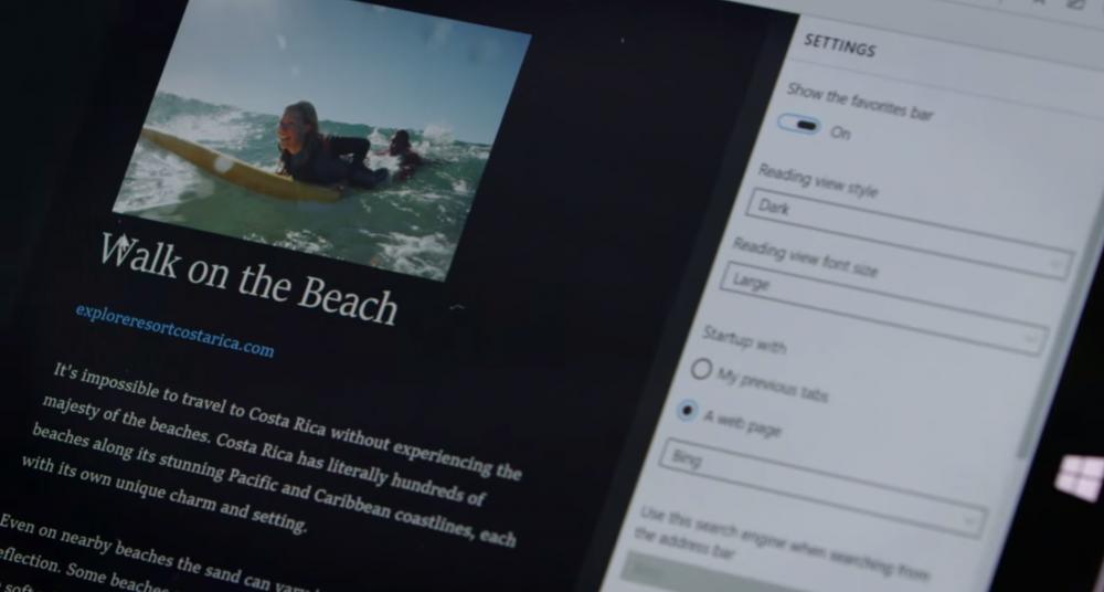 Projet Spartan: Microsoft dévoilera des informations lors du Projet Spartan Web Summit