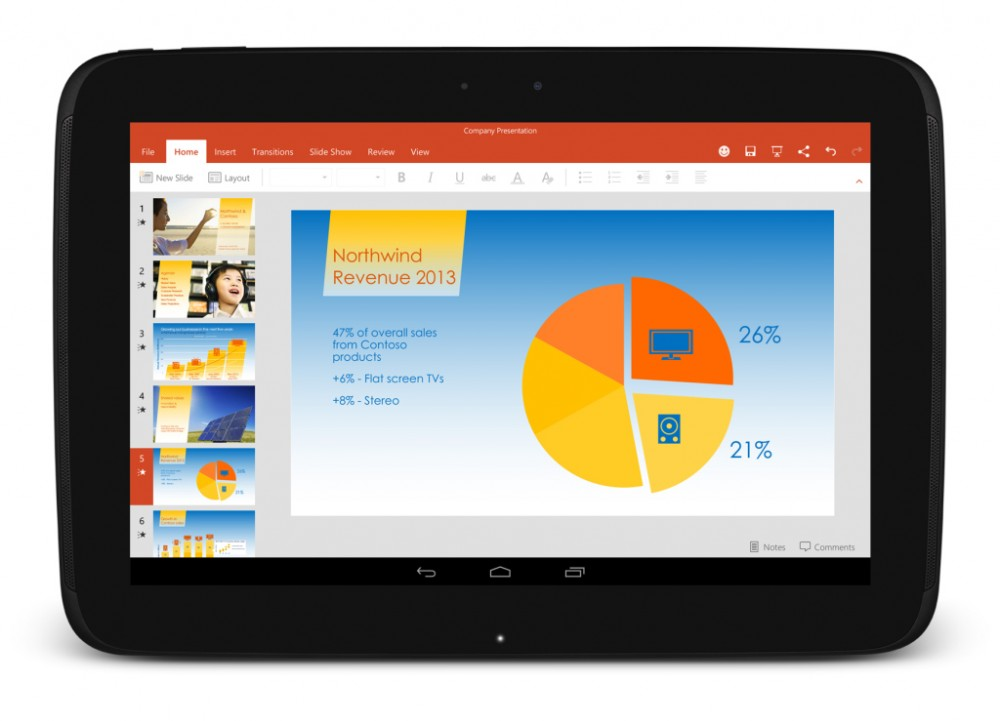 La preview Office maintenant disponible pour Android x86 et Android Lolipop