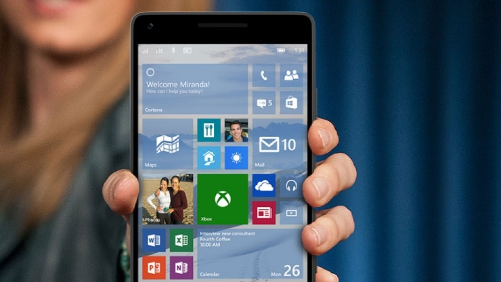 Nouvelle version de test 10052 de Windows 10 pour smartphones