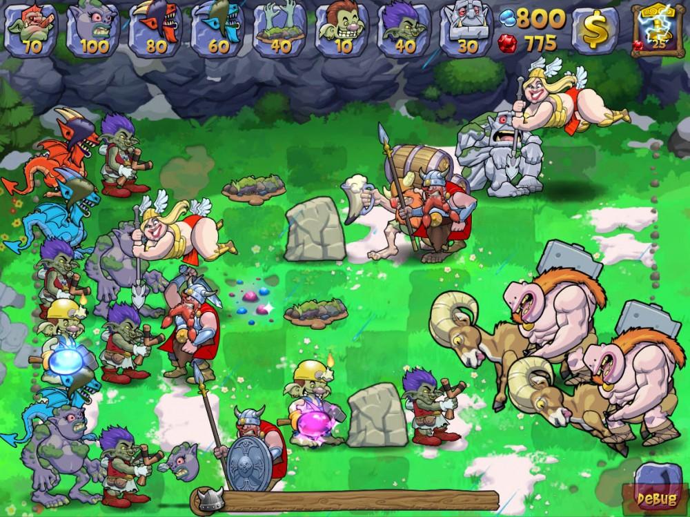 Trolls vs Vikings: un nouveau Plants vs Zombies sympathique pour Windows Phone