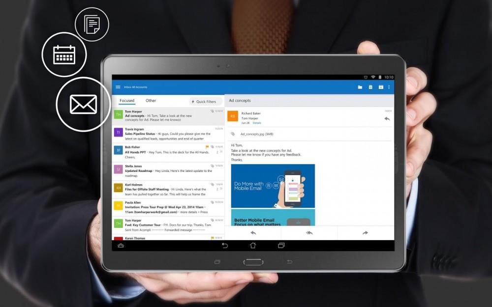 Outlook pour Android est maintenant en version finale