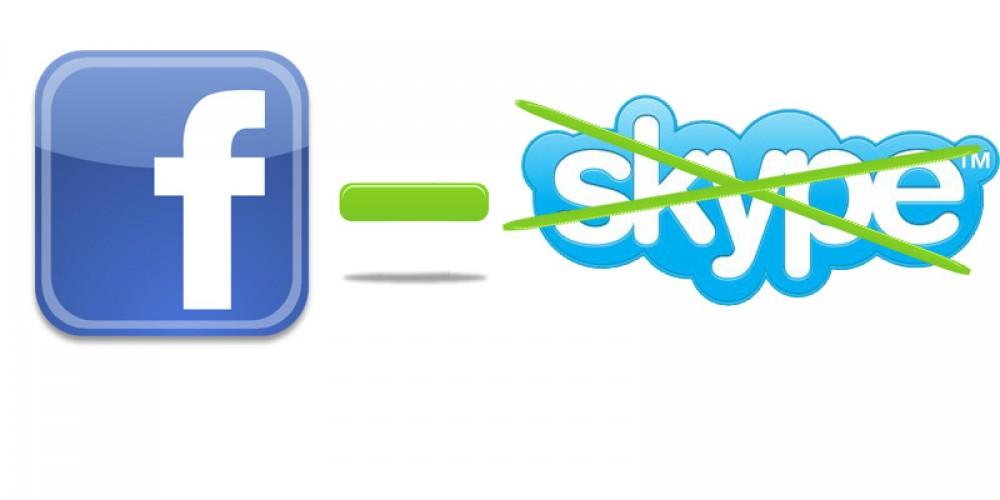 Skype et Facebook: c'est le divorce