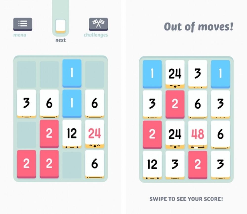 Le célèbre jeu de réflexion Threes! débarque sur Windows Phone