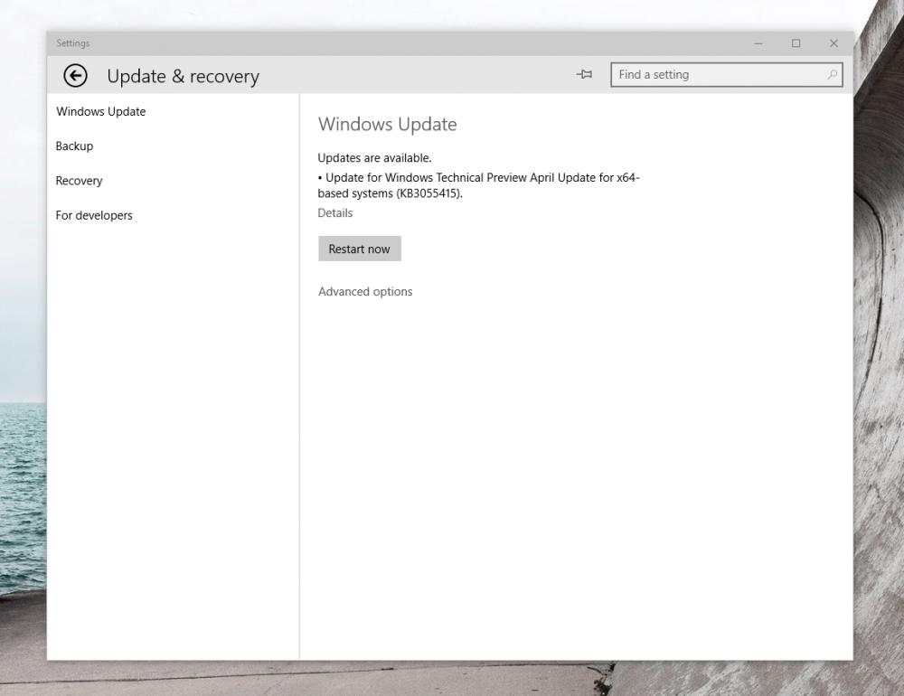Microsoft délivre un patch pour l'écran noir lors de l'ouverture de session dans Windows 10 Preview