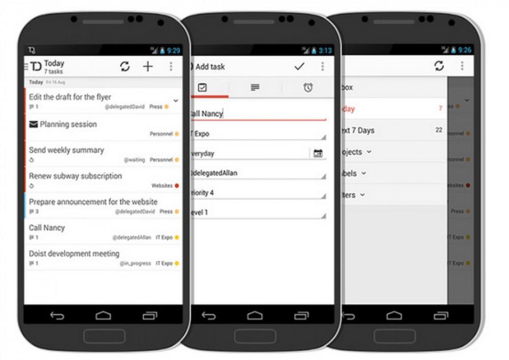 Todoist Windows Phone est en cours de développement