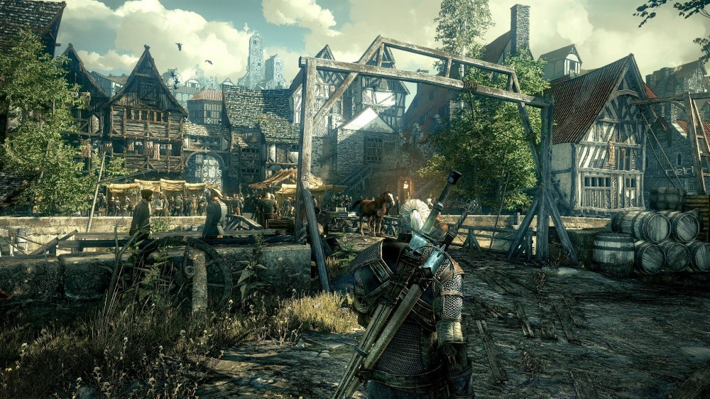 The Witcher III est disponible!