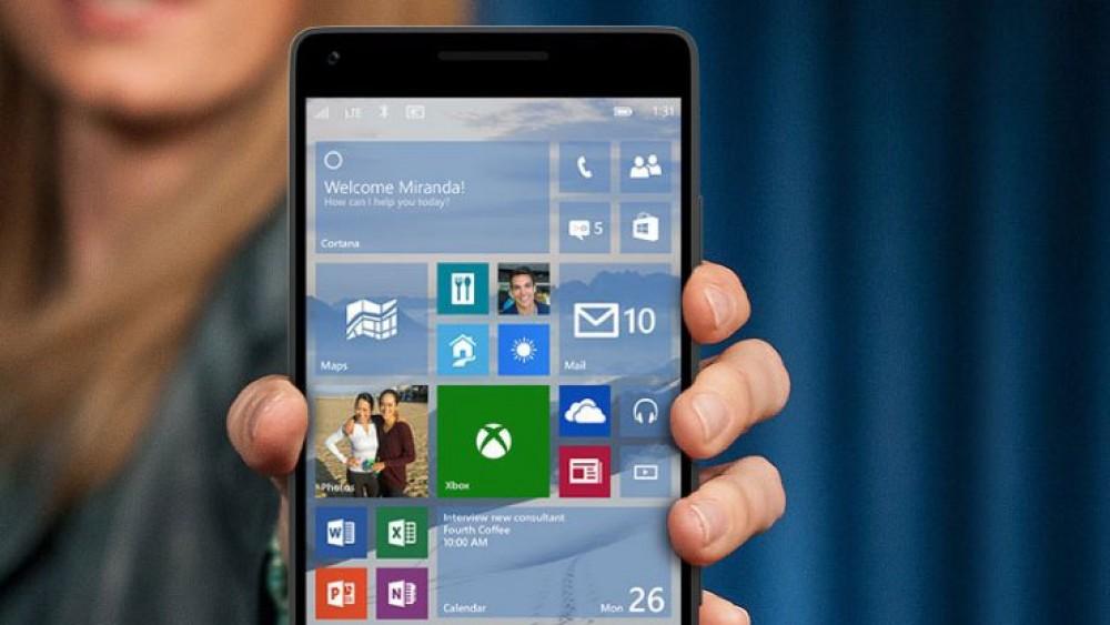 Windows 10 Mobile: le nouveau build 10549 est disponible pour les insiders