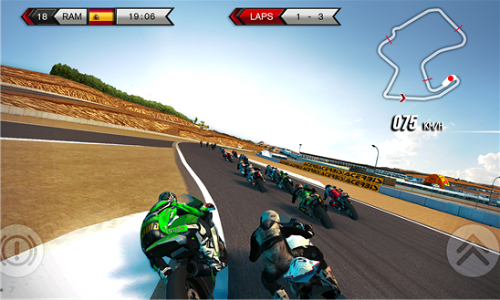 SBK15 Official Mobile Game disponible sur Windows Phone