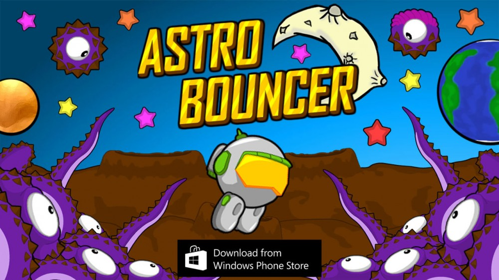 Astro Bouncer: un nouveau endless runner pour Windows & Windows Phone