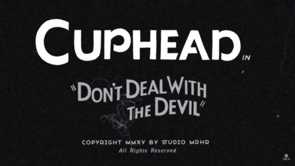 [E3 2015] Cuphead: le jeux Xbox qui ressemble à un Disney