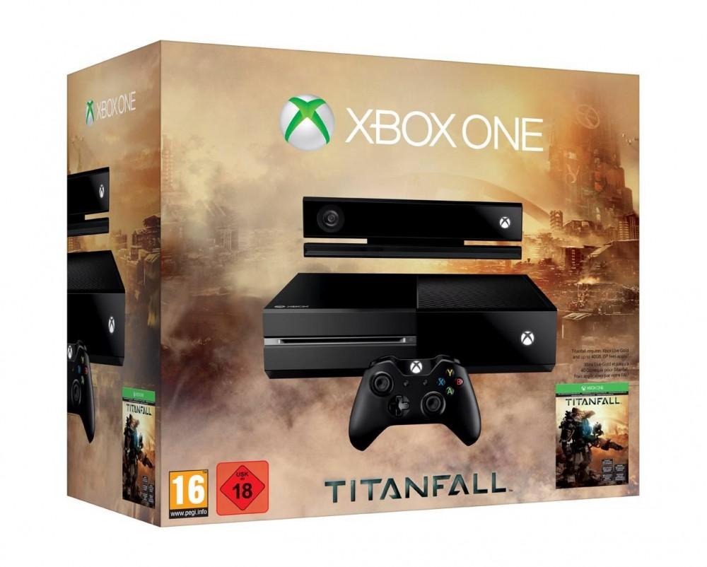 [Bon Plan] Xbox One + Kinect + Titanfall + 1 Mois Xbox Live Gold à 329€ seulement!