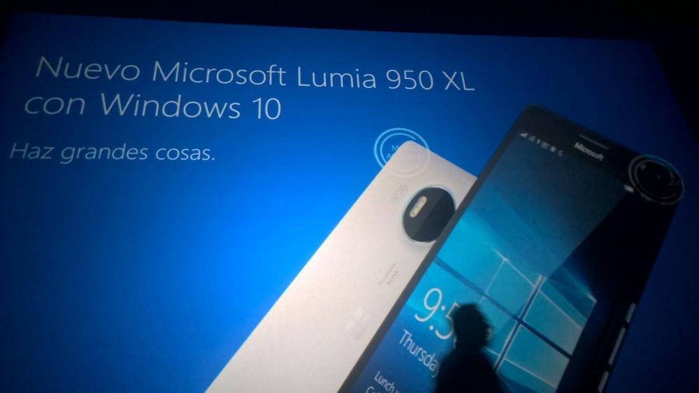 Lumia 950XL: des images promotionnelles fuitent avant son annonce le 6 Octobre