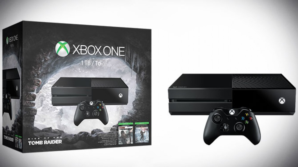 [MàJ] Xbox One: un nouveau pack incluant le Jeu Rise of the Tomb Raider