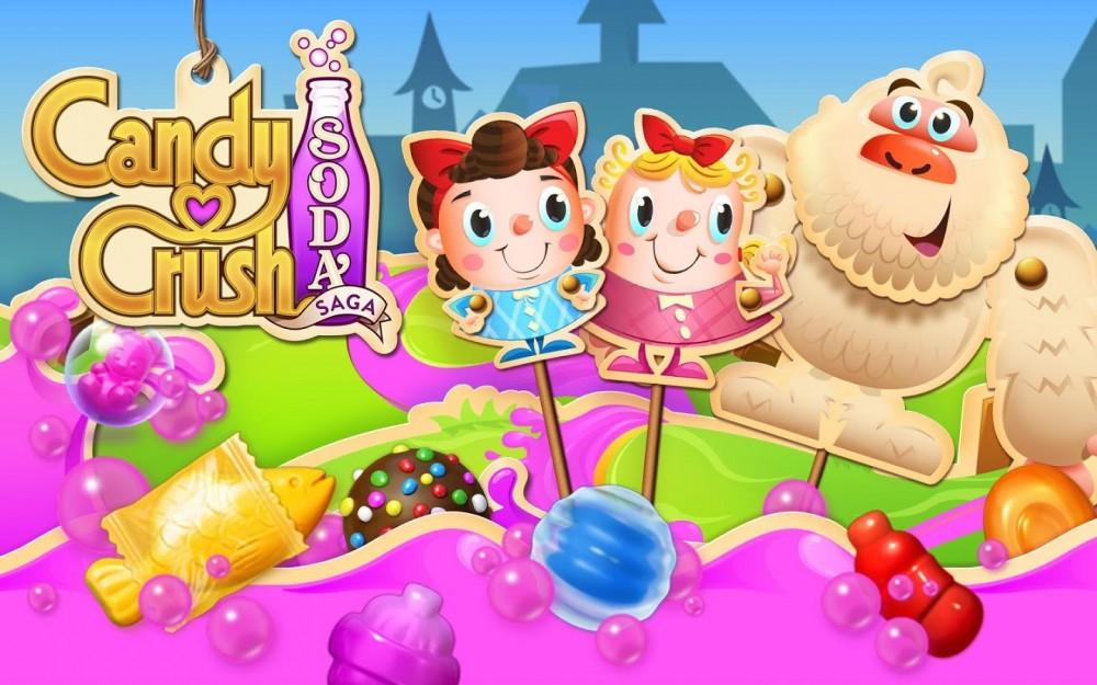 Candy Crush Soda Saga débarque sur Windows 10… mais pas sur Smartphone