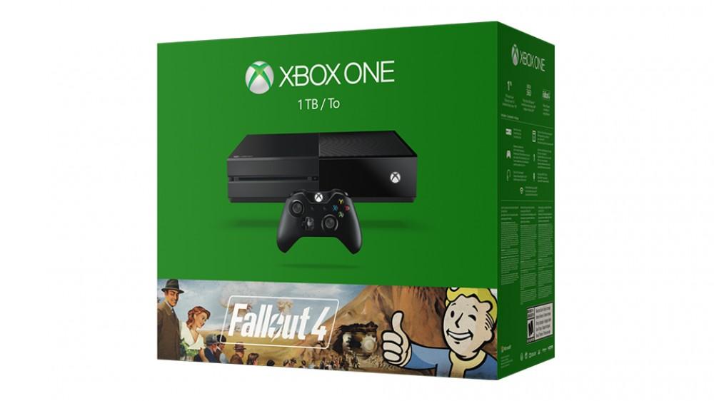 Microsoft annonce le pack Xbox One comprenant Fallout 3 & 4 pour 399€, disponible le 10 Novembre