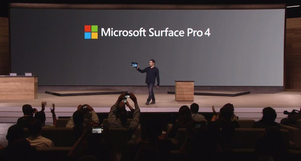 Microsoft annonce la Surface Pro 4 avec un nouveau Stylet plus précis