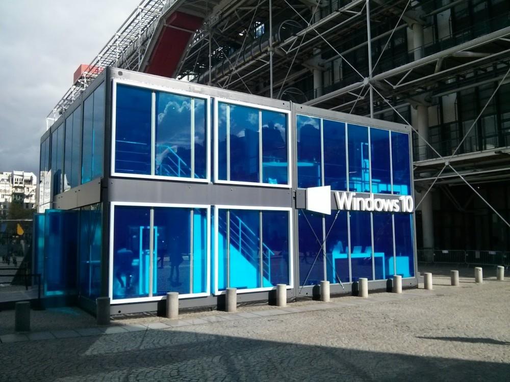 Mini-reportage: nous avons été au Windows Cube à Paris (Beaubourg)