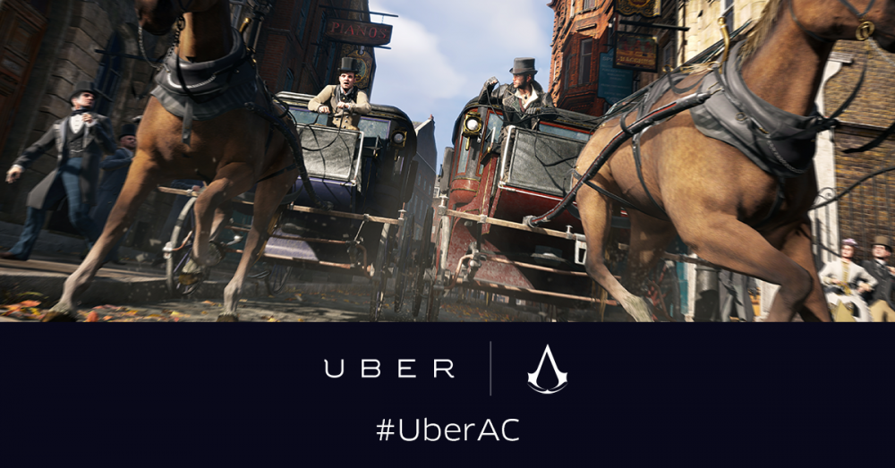 [Màj] Insolite: Uber & Ubisoft vous livrent gratuitement le dernier Assassin's Creed… en calèche!