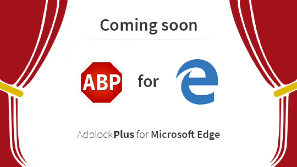 L'extension Adblock & Adblock Plus pour Microsoft Edge est disponible sur le Windows Store