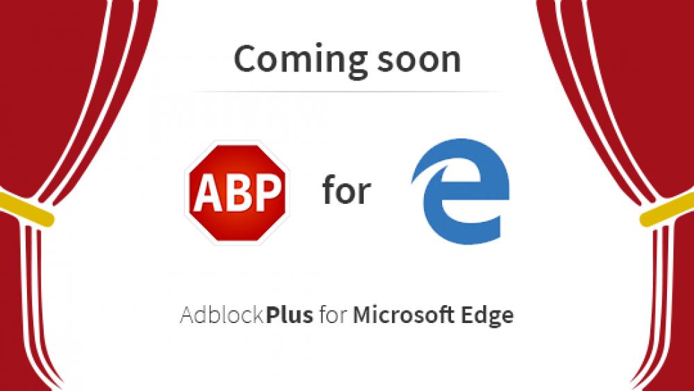 L'extension Adblock & Adblock Plus pour Microsoft Edge est disponible sur le Windows Store