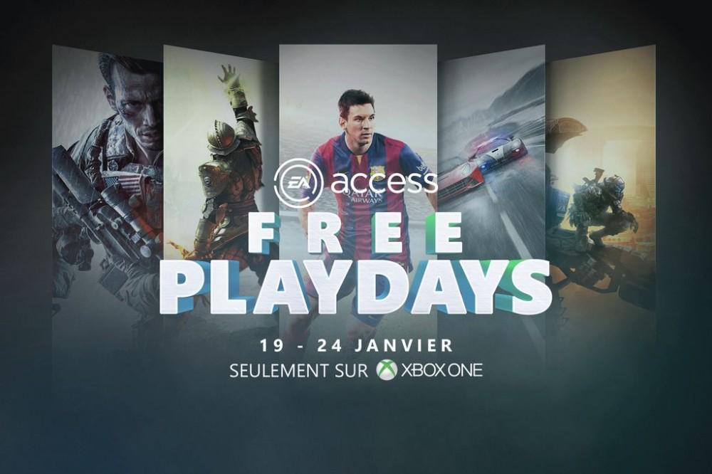 [Bon Plan] Xbox One: du 19 au 24/01 jouez gratuitement à tous les jeux EA Access!