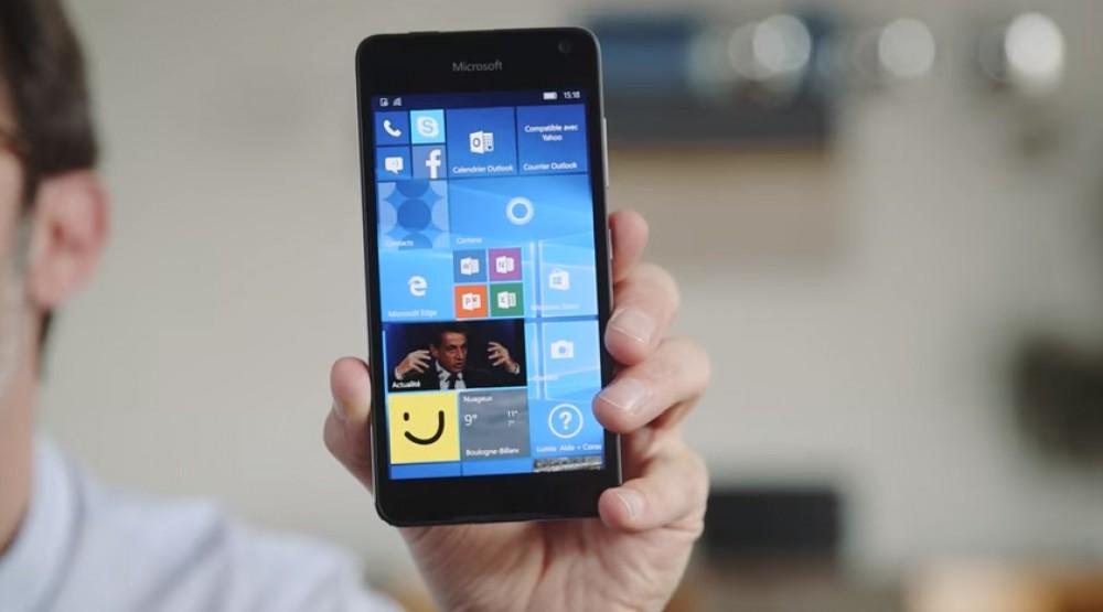 Lumia 650: découvrez la prise en main en vidéo