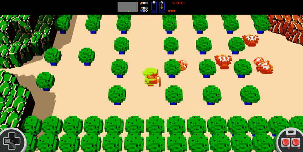 Rejouez au tout premier Zelda NES en 3D dans votre navigateur [màj]
