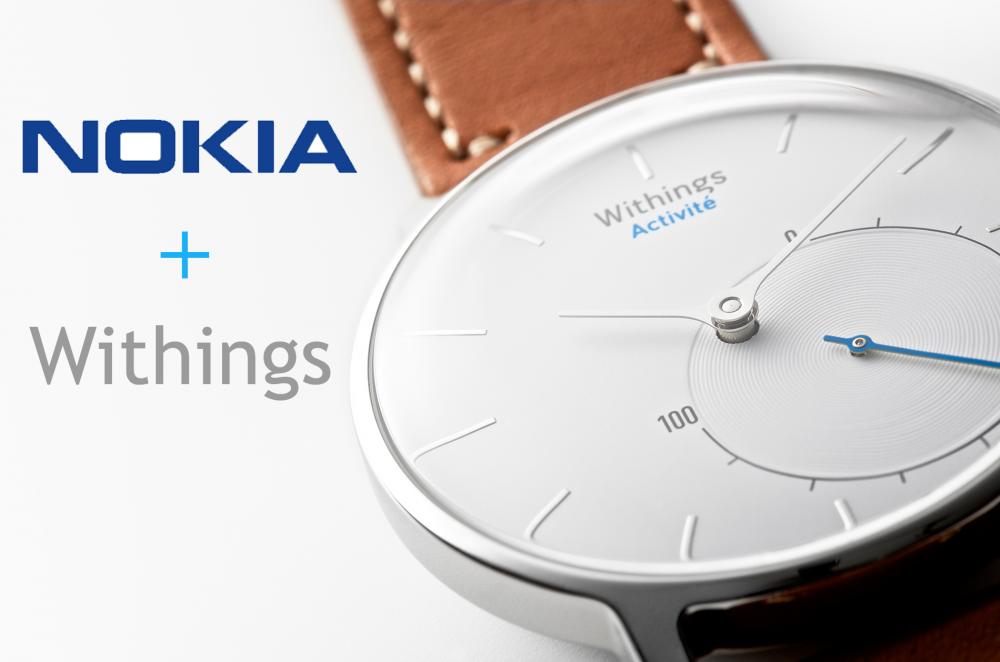 Nokia va racheter le Français Withings pour 170 millions d'euros