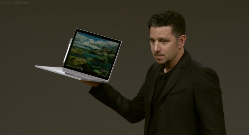 Microsoft annonce le Surface Book i7!