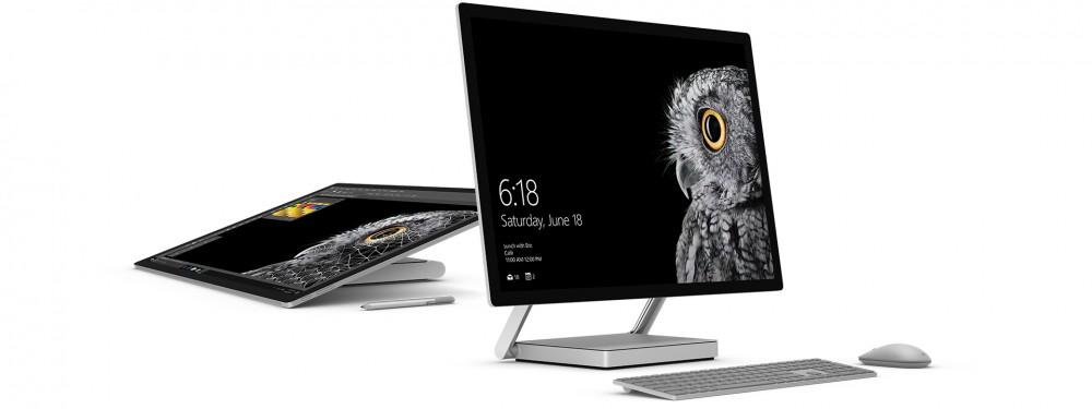 Regardez la vidéo de présentation du Surface Studio