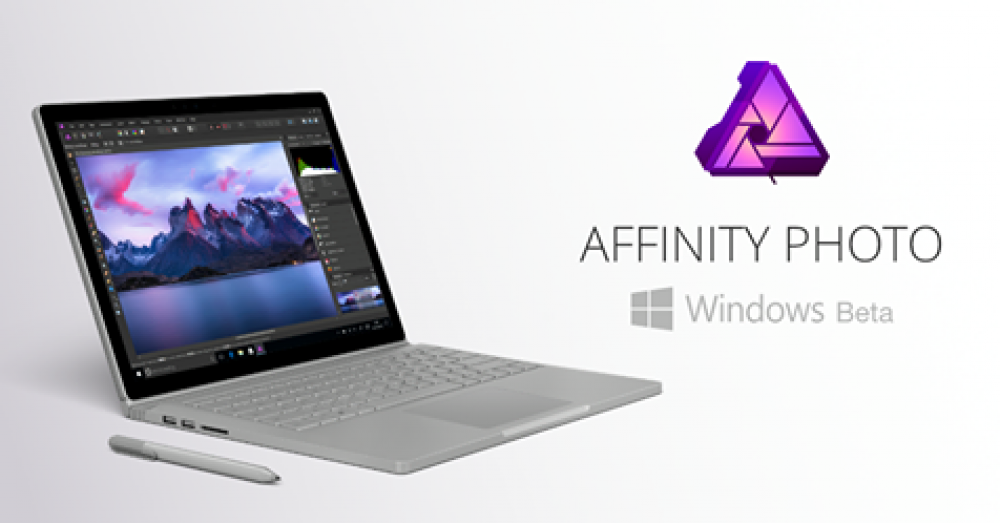 Affinity Photo: la version Beta est disponible pour Windows 10!