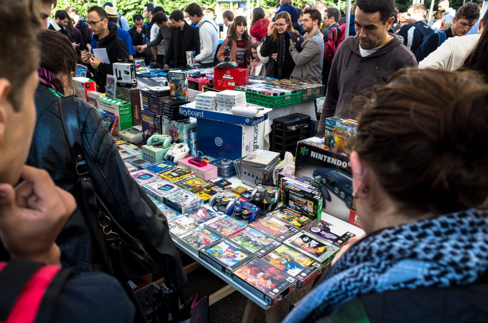 Jeux Donne: la brocante de jeux vidéos se tiendra ce week end à Paris