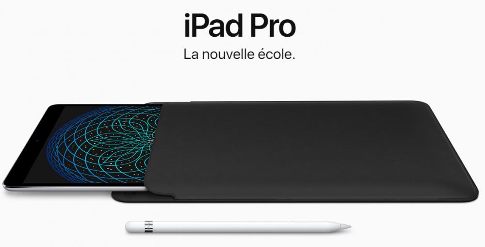 Nouvel iPad Pro avec iOS 11: sur les traces de la Surface Pro