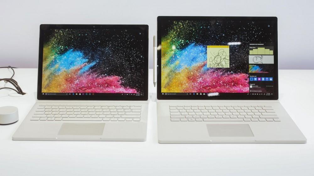 Surprise: Microsoft annonce le Surface Book 2! [Màj]