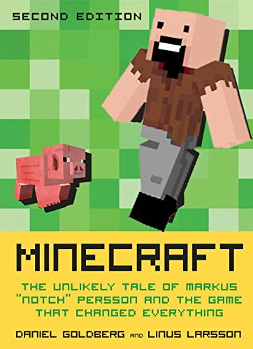 Le livre Minecraft Second Edition, par Daniel Goldberg et Linus Larsson