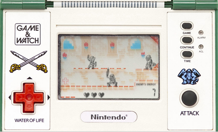 Le jeu Game & Watch Zelda