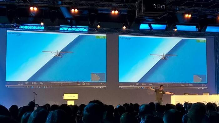 Le jeu réagit instantanément aux mouvements grâce à Microsoft Band