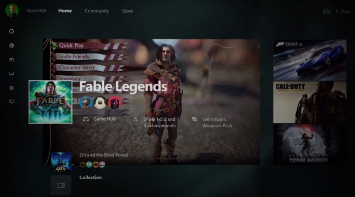 Le nouveau Dashboard Xbox One