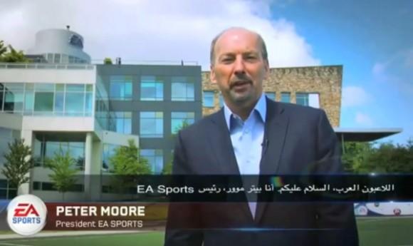 Peter Moore, qui a depuis quitté Microsoft pour Electronic Arts