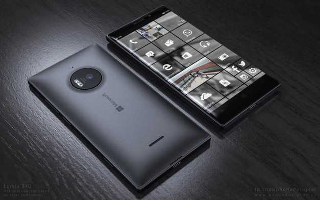 "Imagine concept du Lumia ""Talkman"" 950"