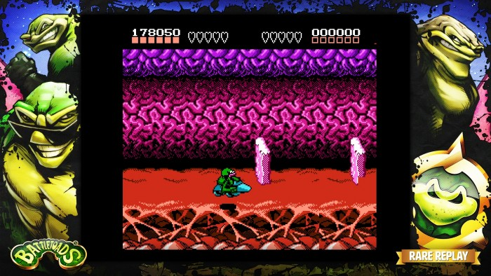 Le jeu Battletoads sur NES
