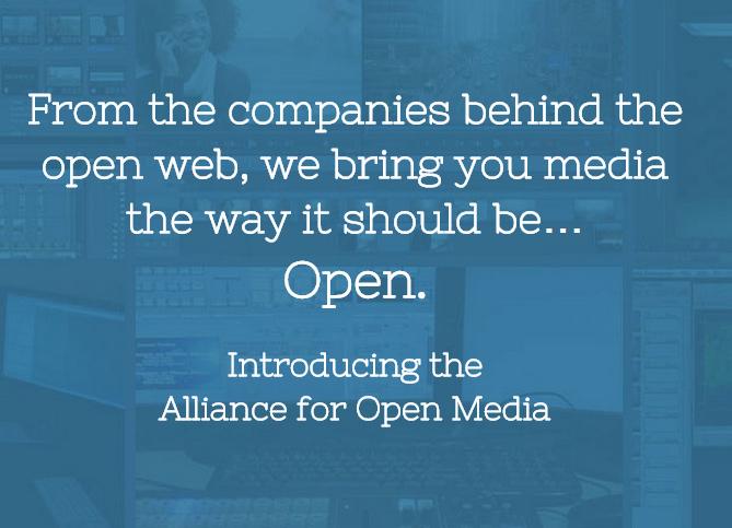 Par les sociétés derrière la création du web ouvert, la vidéo comme elle devrait être... Libre.