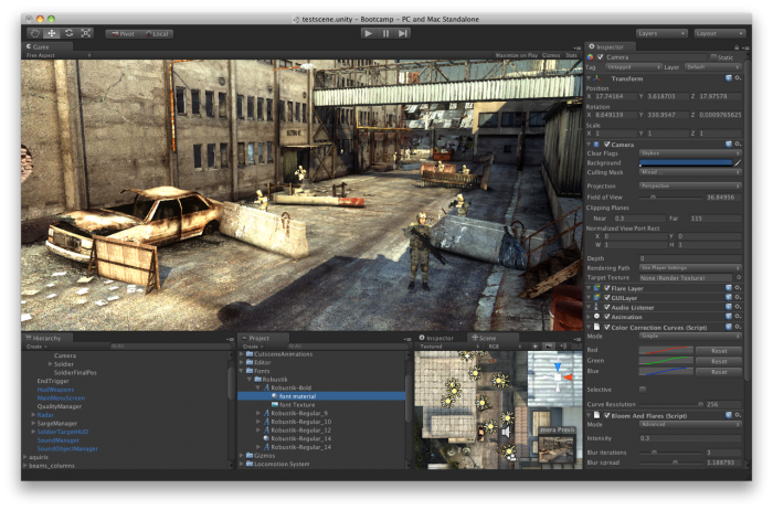 L'outil de développement de Unity 3D