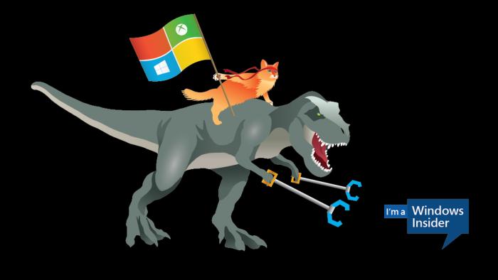 Le logo Ninja Cat de Microsoft
