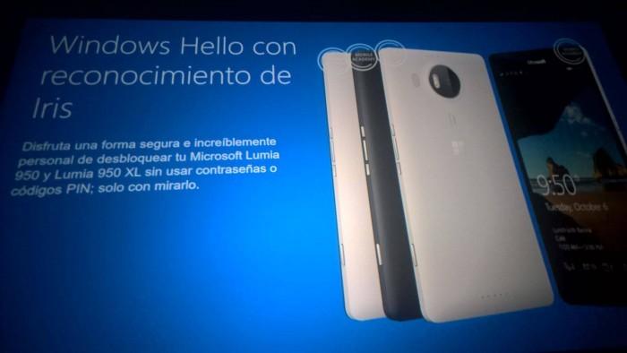 Le Lumia 950 & 950XL permettront la reconnaissance rétinienne grâce à Windows Hello