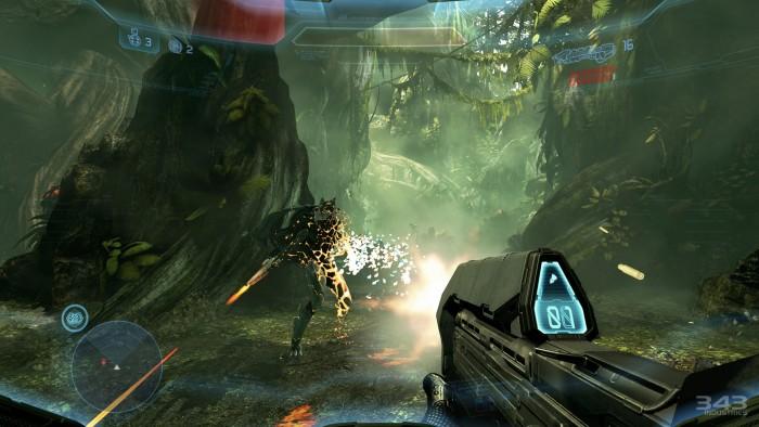 Halo 4: un des nombreux jeux utilisant le moteur Havok