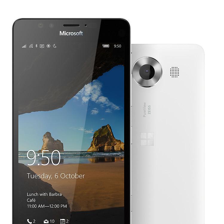 Le Lumia 950 est le seul smartphone à fonctionner officiellement avec Windows 10 Mobile