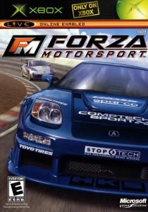 Le tout premier Forza, qui deviendra le titre phare de la Xbox