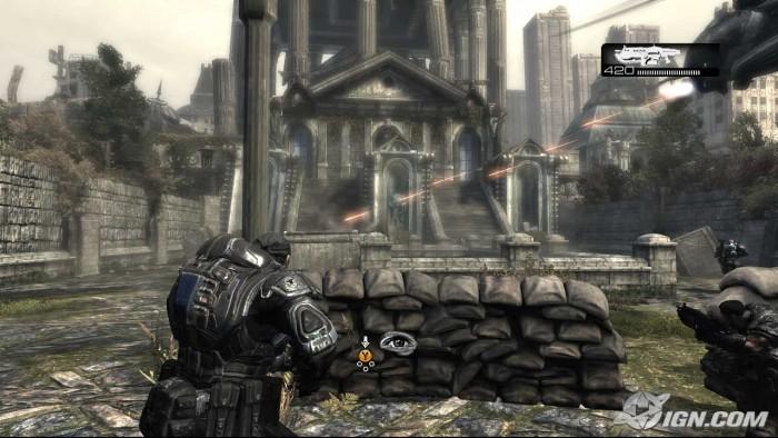 Gears of War: un des nombres titres à succès de la Xbox 360
